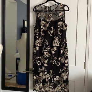 Calvin Klein Embroidered Dress Plus Size